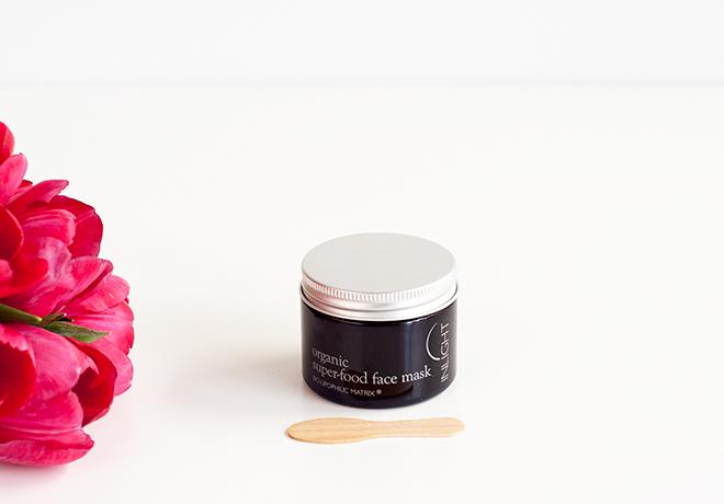 Inlight organic super-food face mask
