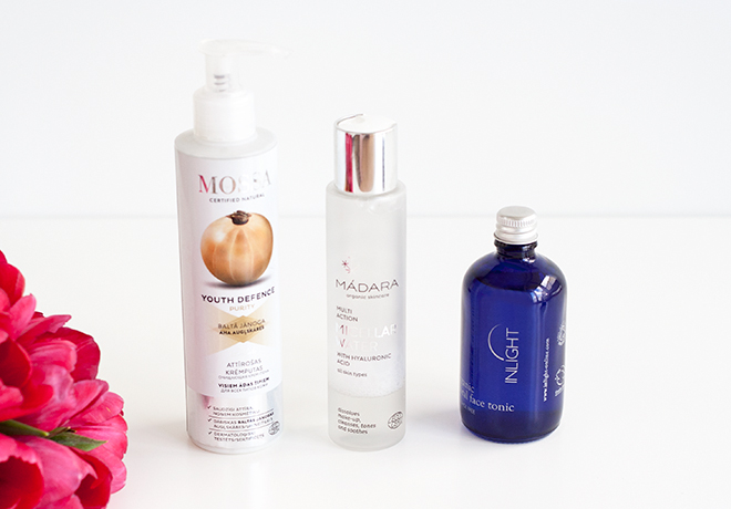 Organic Cleansers and Toners