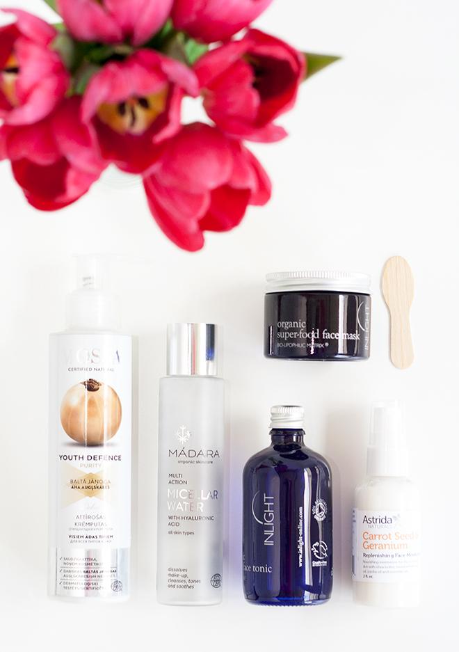 Organic Skincare Routine2016 Spring