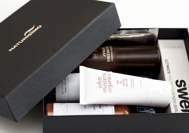 Naturisimo Gorgeous Hair Organic Discovery Box