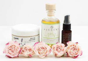 Organic Hair Oils and Masks