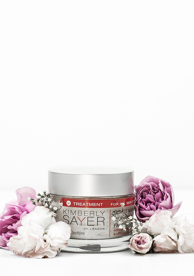 Kimberly Sayer Gentle Almond and Lavender Scrub