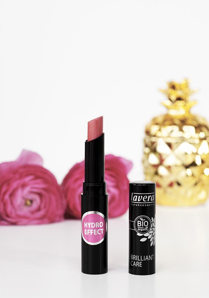 Lavera Organic Lipstick in Strawberry Pink