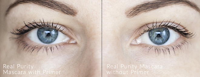 Real Purity Mascara Swatches