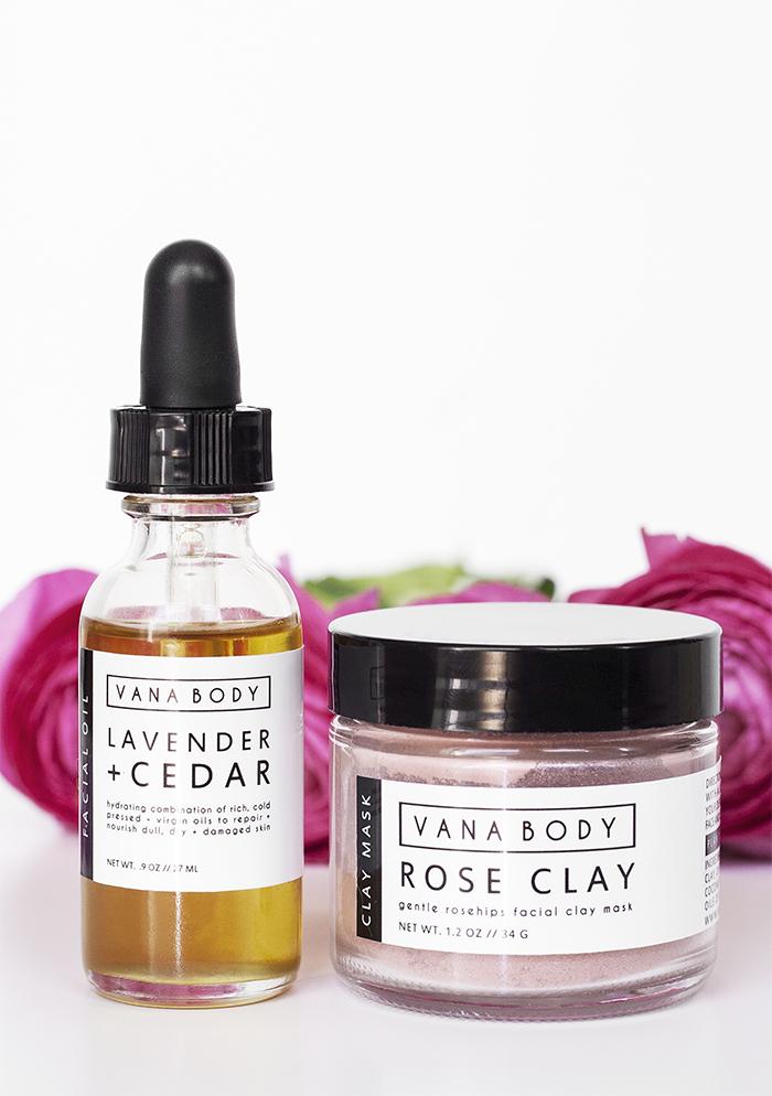 Vana Body Nourishing Organic Skincare