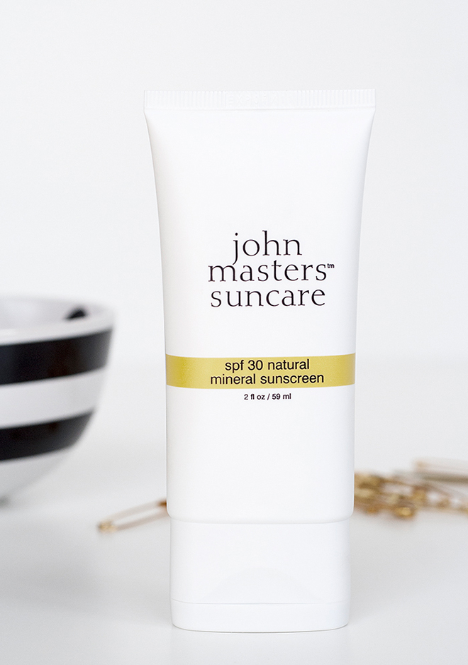 John Masters SPF30 Natural Mineral Sunscreen