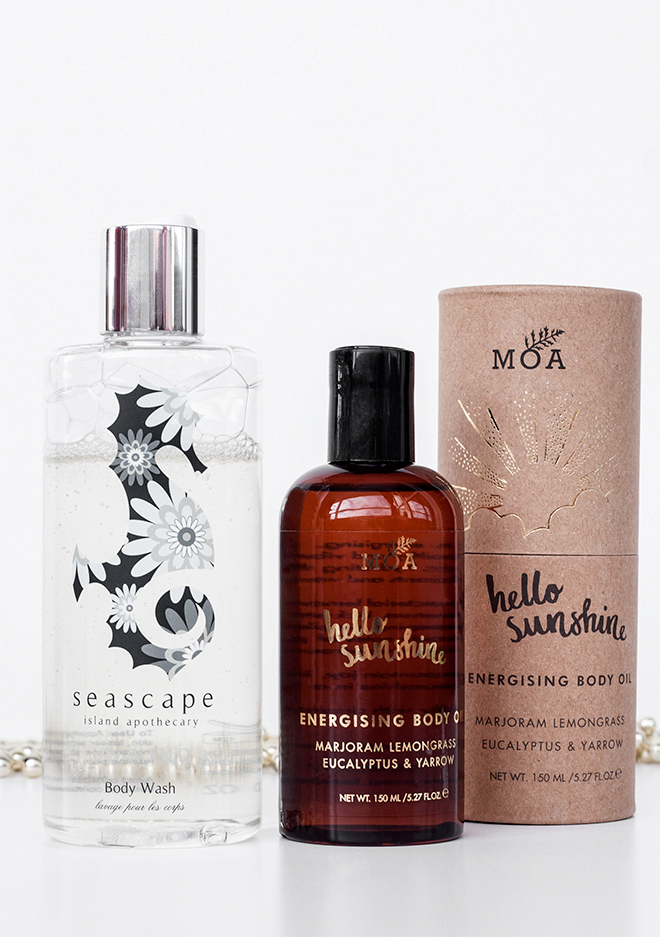 Current Morning Shower Essentials