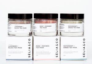 Selia and Co Natural Tea Masks
