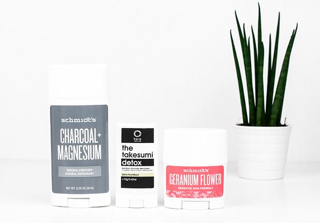 Current Natural Deodorants