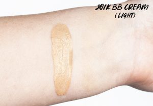 Joik Skin Perfecting BB Cream in Light Swatches