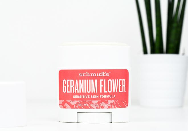 Schmidts Geranium Flower Sensitive Natural Deodorant