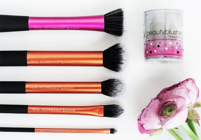 Everyday Cruelty-Free Vegan Makeup Brushes