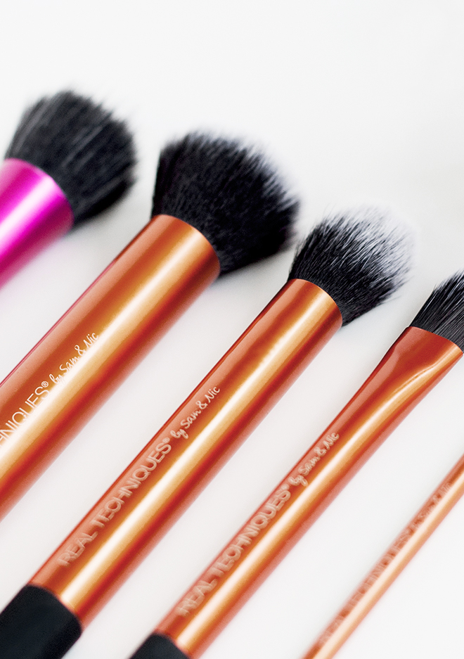 Real Techniques Cruelty Free Vegan Makeup Brushes
