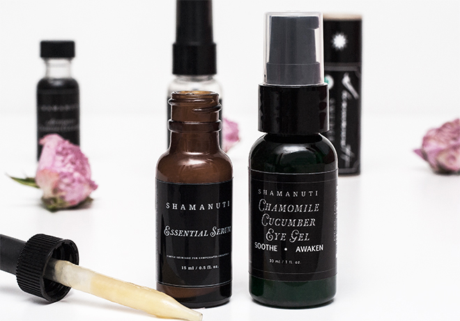 Shamanuti Natural Serum and Eye Gel