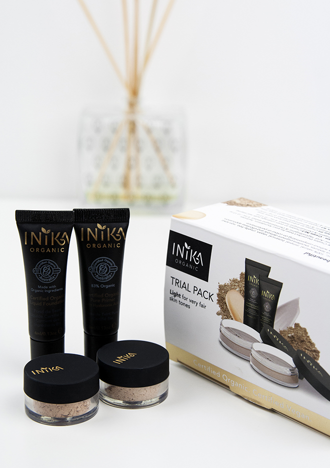 Inika Organic Trial Packs Light