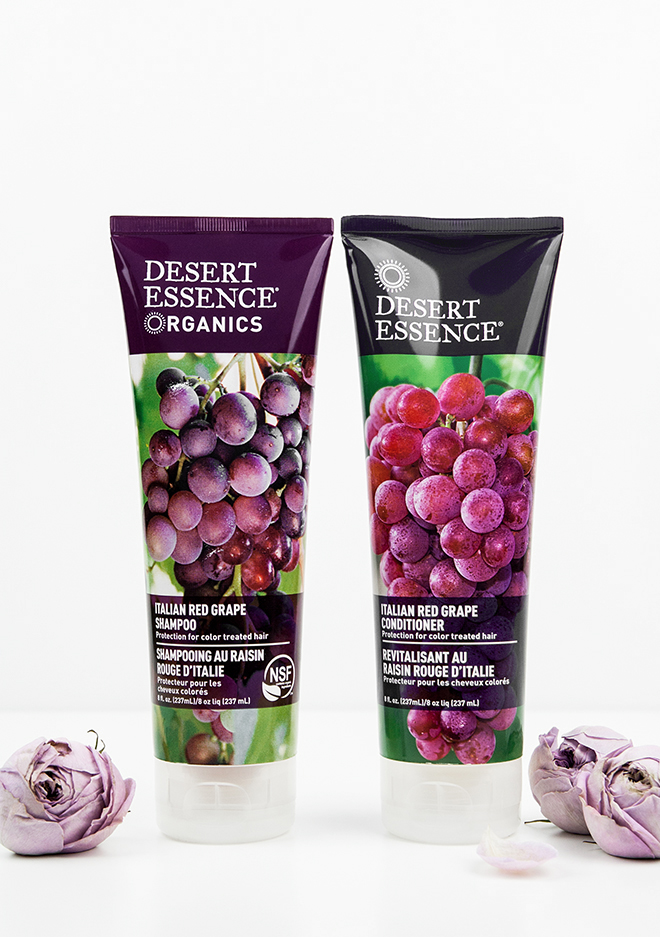 Desert Essence Organics Italian Red Grape organic haircare