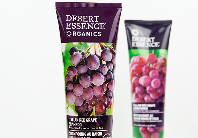 Desert Essence Organics Italian Red Grape Shampoo