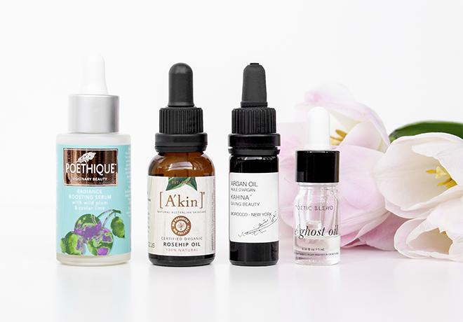 Organic Oils and Serums
