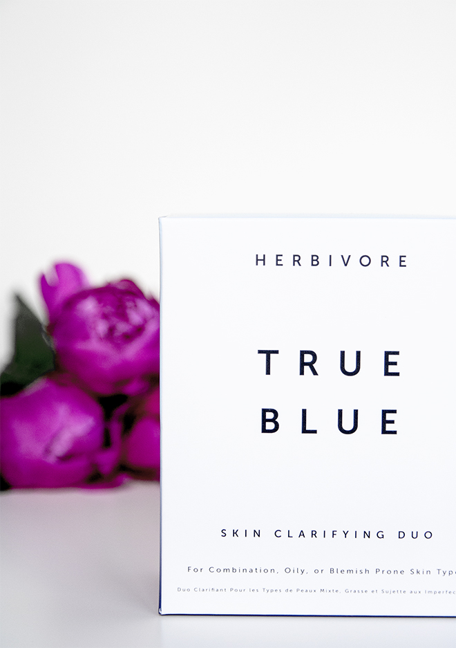 herbivore true blue skincare kit