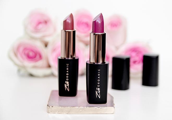 Zuii Certified Organic Flora Lux Lipsticks Glam Charm