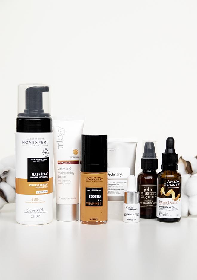 Organic Vitamin C Skincare