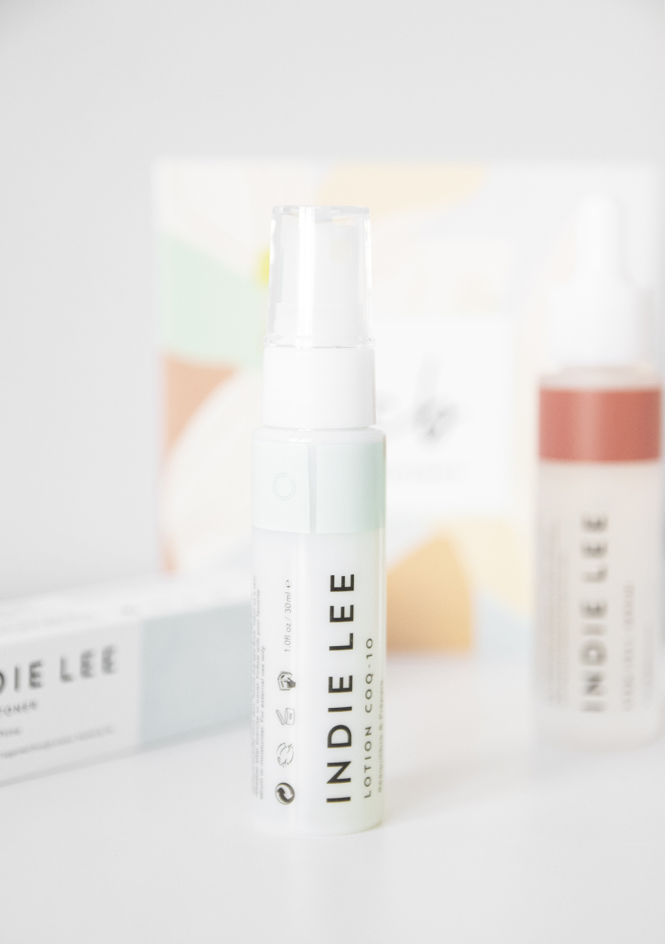 Indie Lee Lotion CQ 10 Toner in Clean Beauty Box