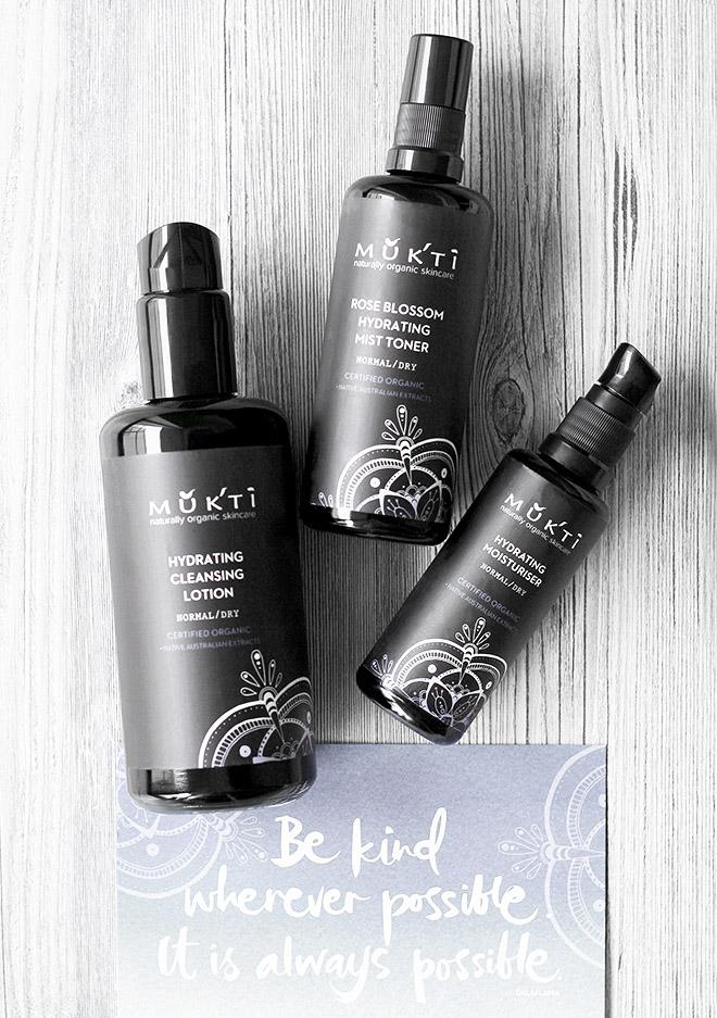 Mukti Organic Skincare Routine