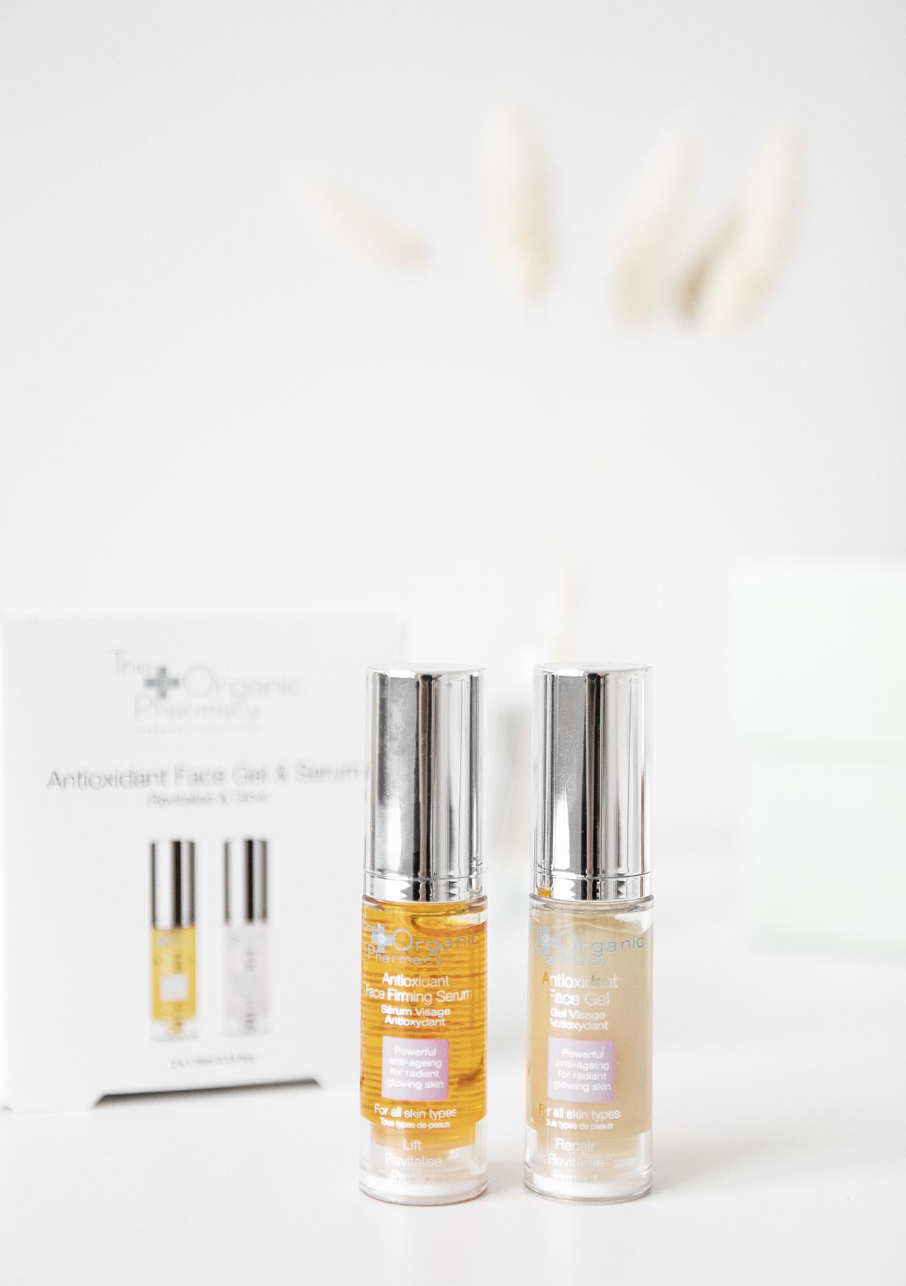 The Organic Pharmacy Antioxidant Face Gel and Serum Kit