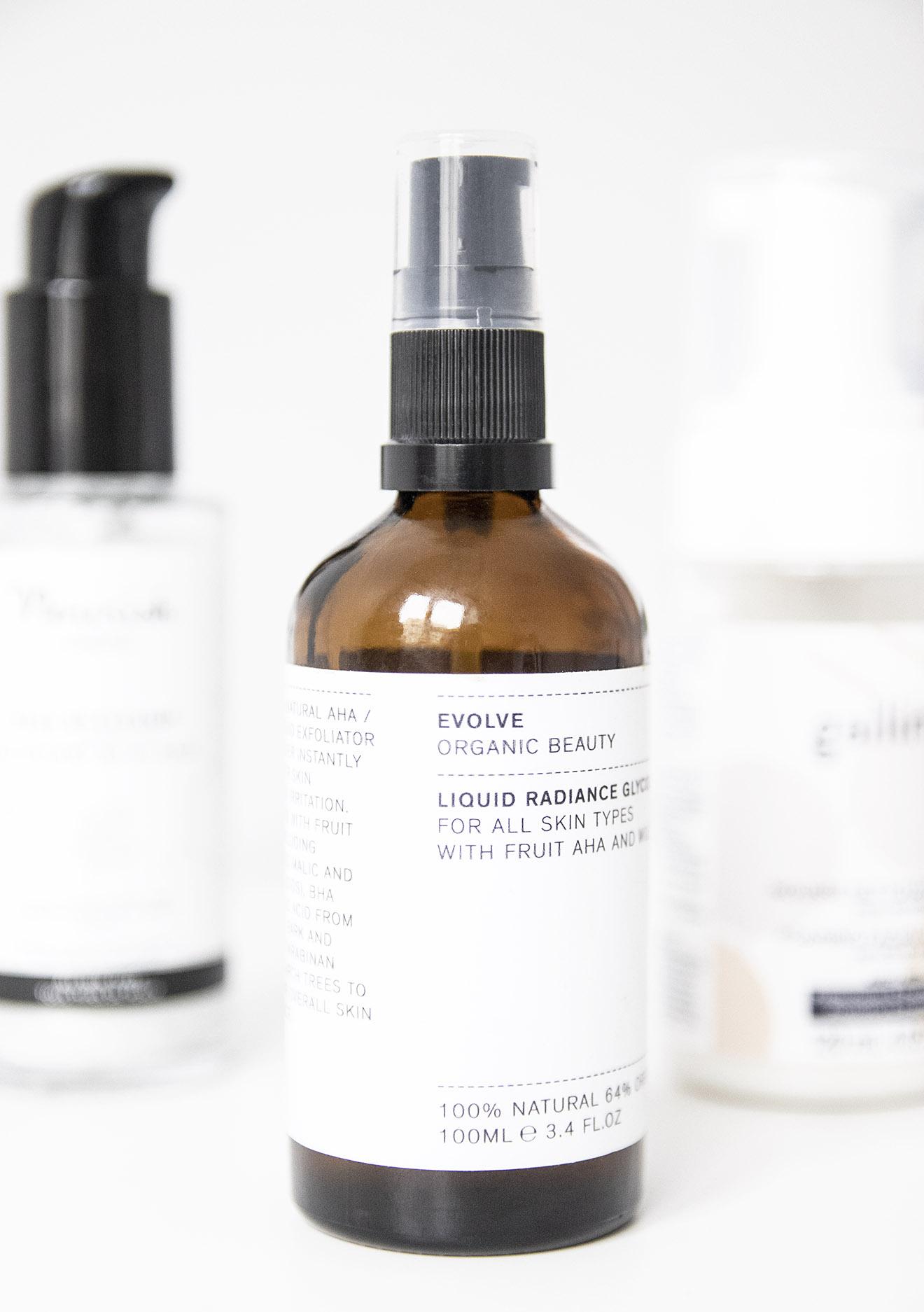 Evolve Organic Beauty Liquid Radiance Glycolic Toner
