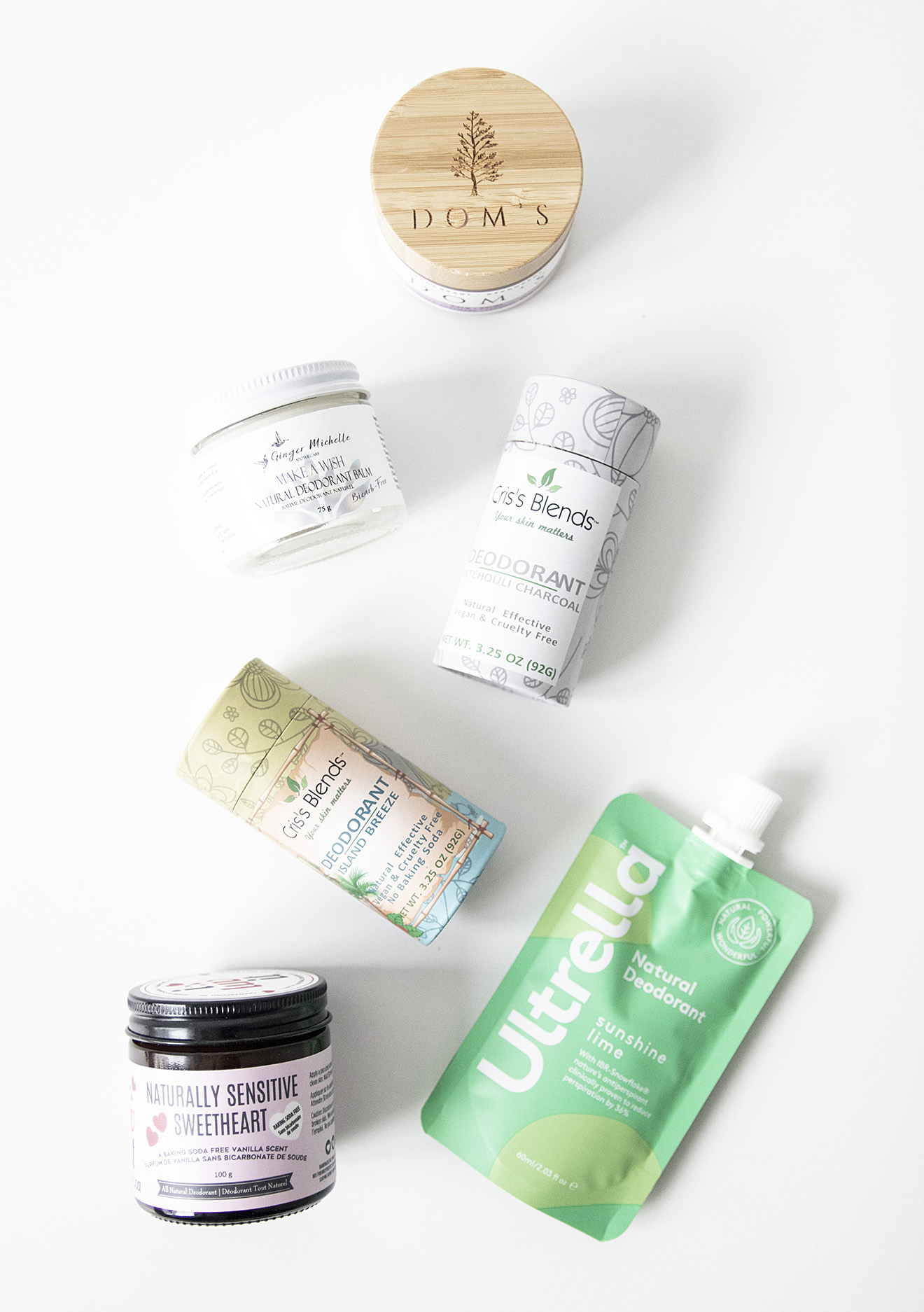 Clean Beauty Awards 2021 Organic Deodorants