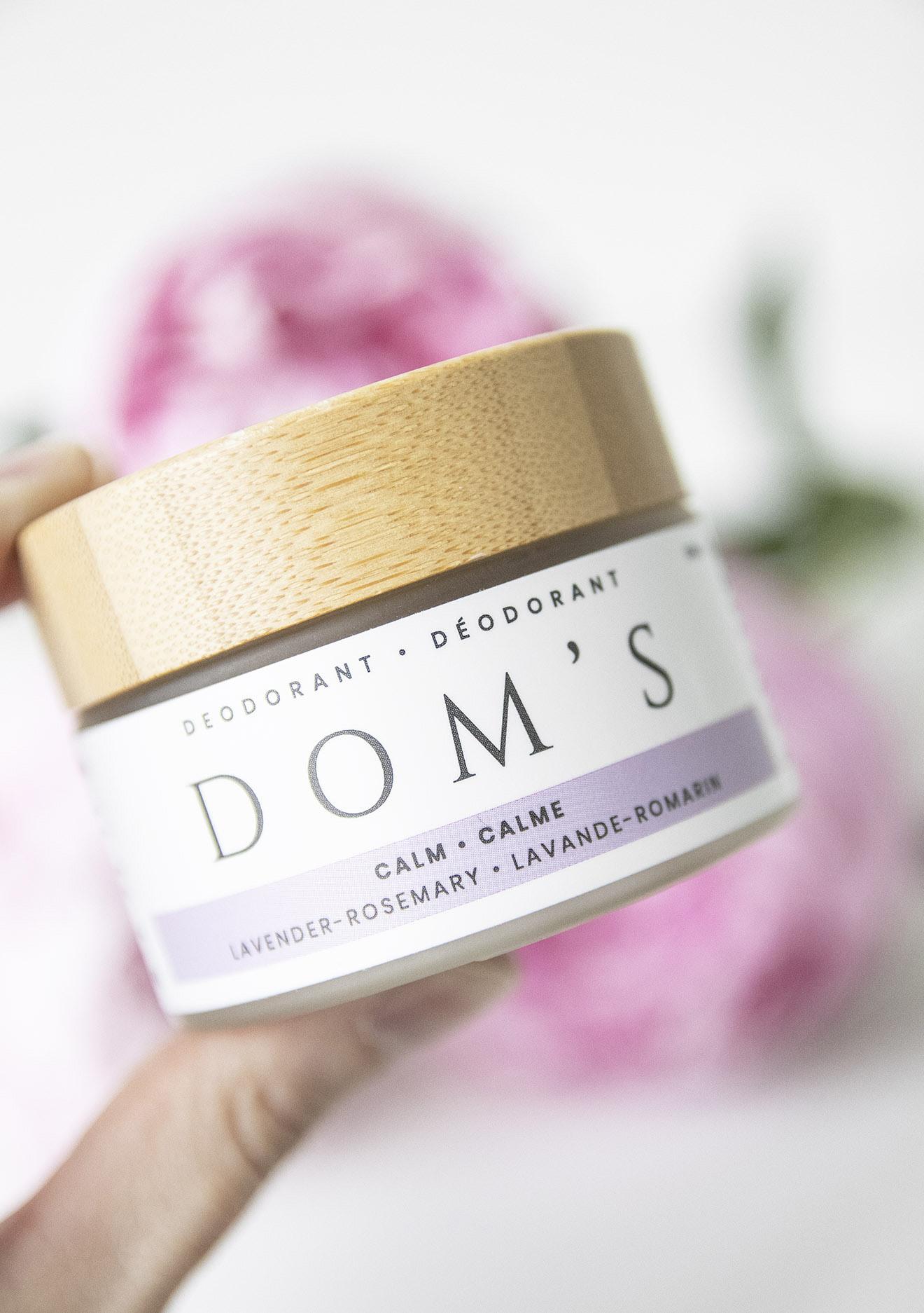 Doms Natural Deodorant Calm