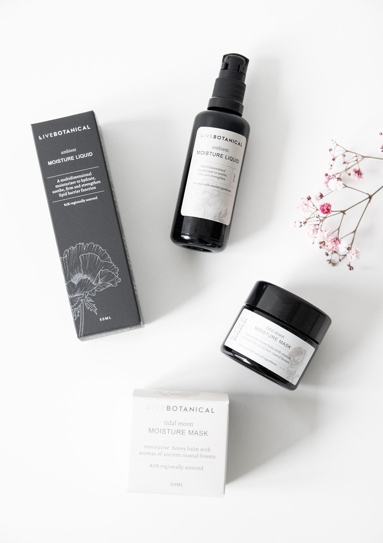 Live Botanical Moisture Liquid and Mask Organic Skincare