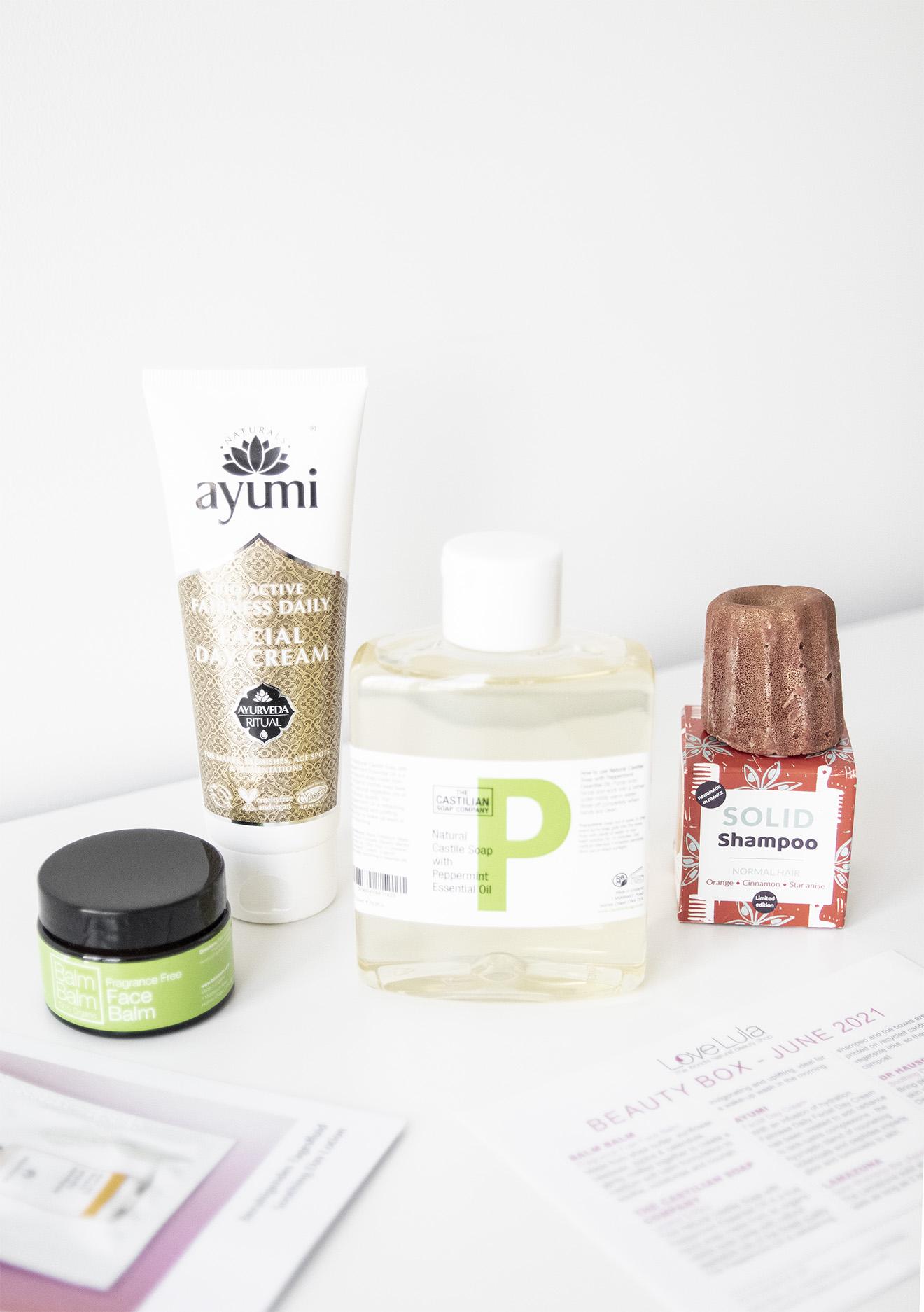LoveLula Organic Beauty Box June 2021