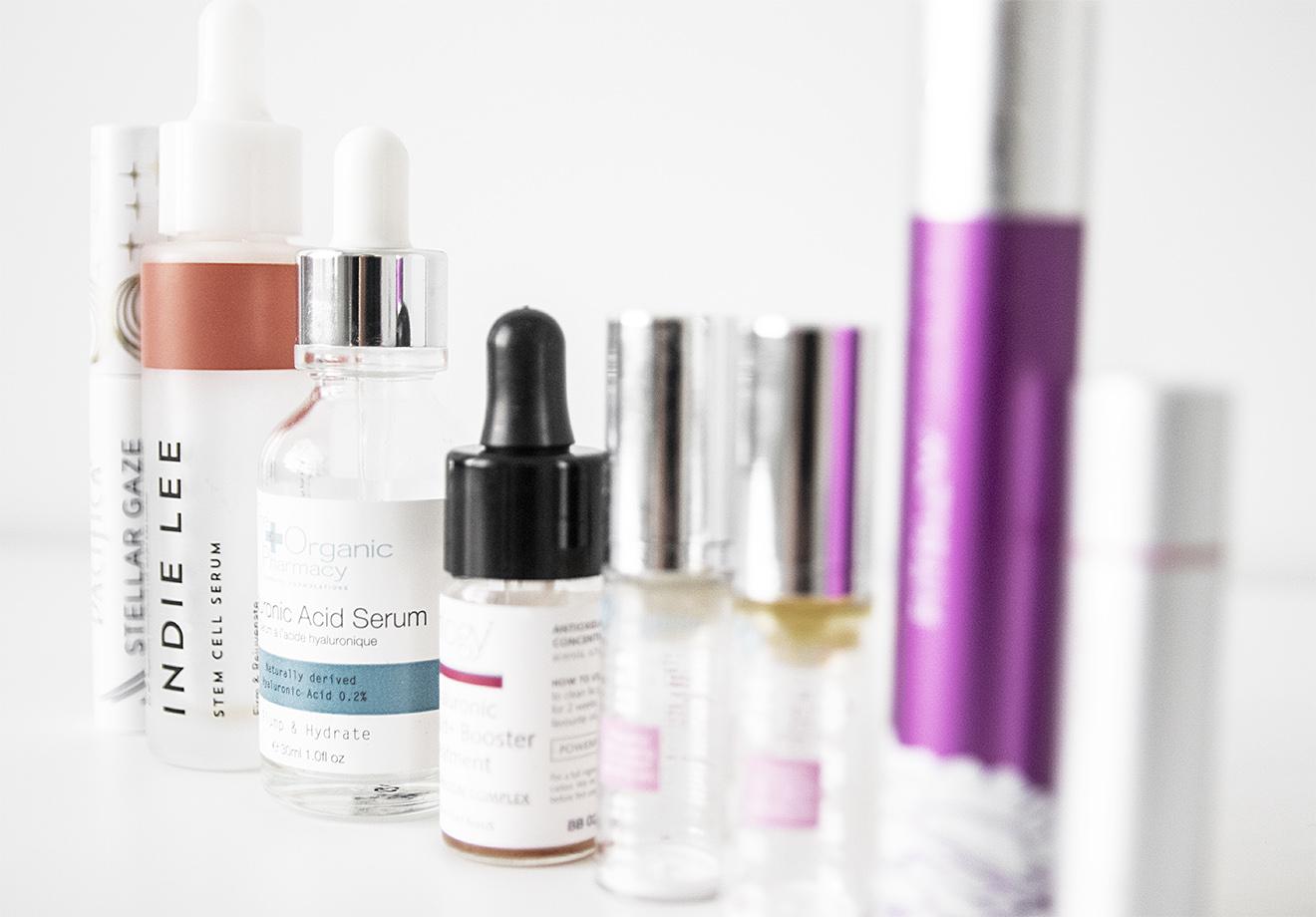 Organic Beauty Empties July 2021r