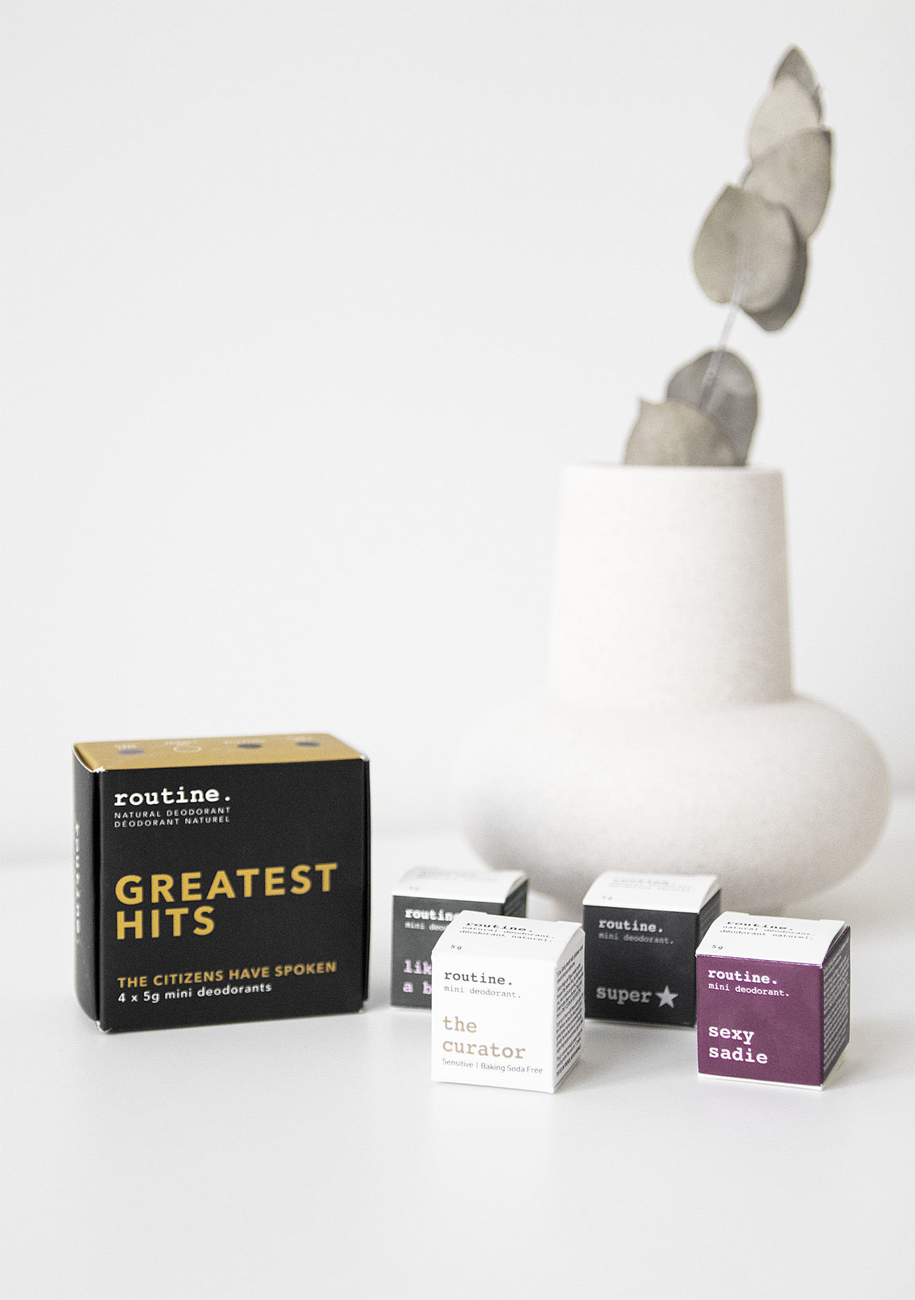 Routine Natural Deodorant Greatest Hits Set