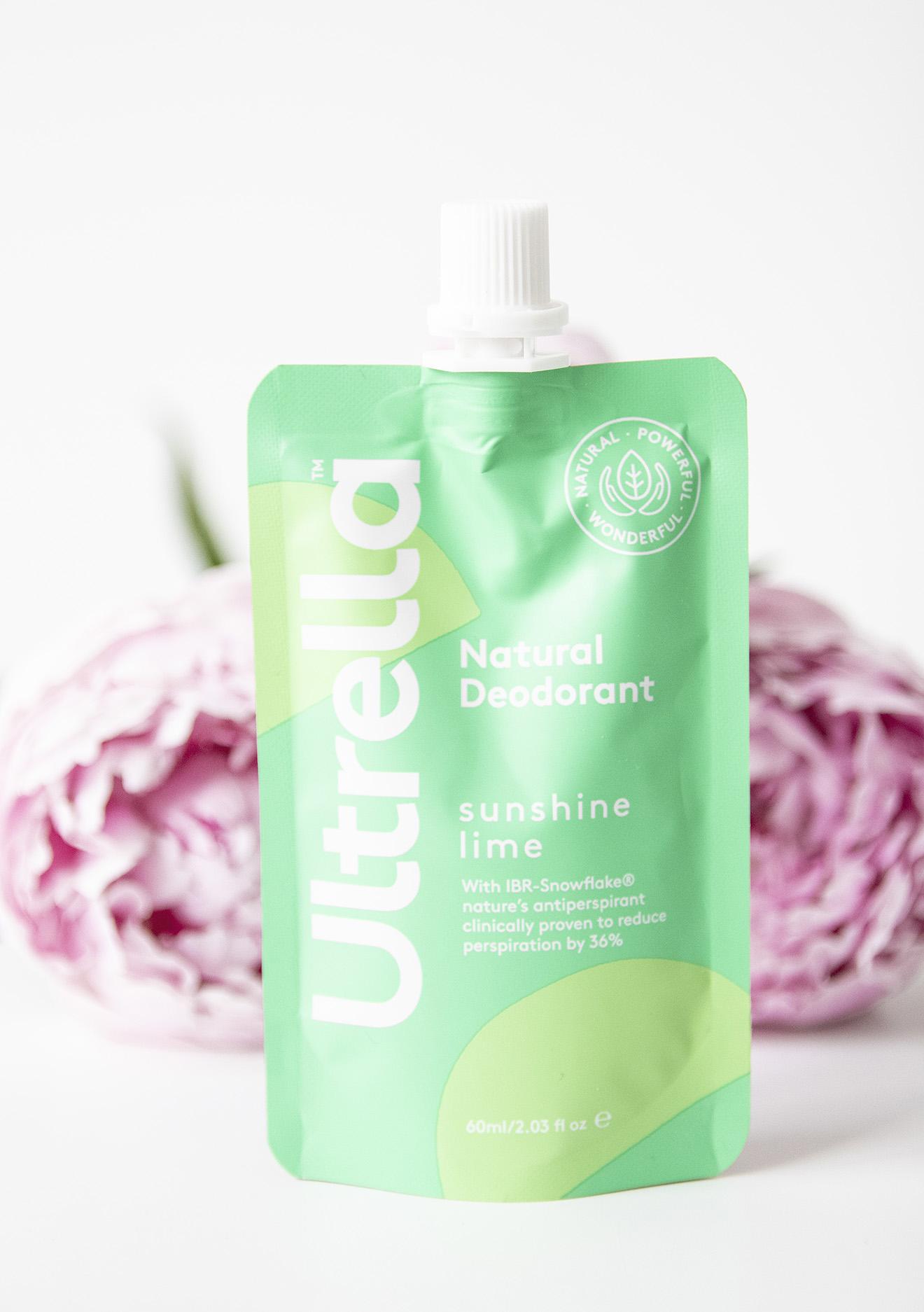 Ultrella Sunshine Lime Natural Deodorant